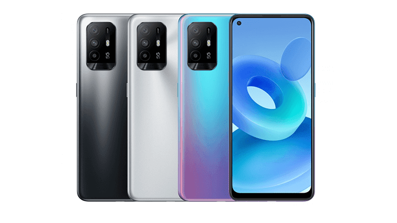 OPPO A95 5G with AMOLED screen and Dimensity 800U chipset now official