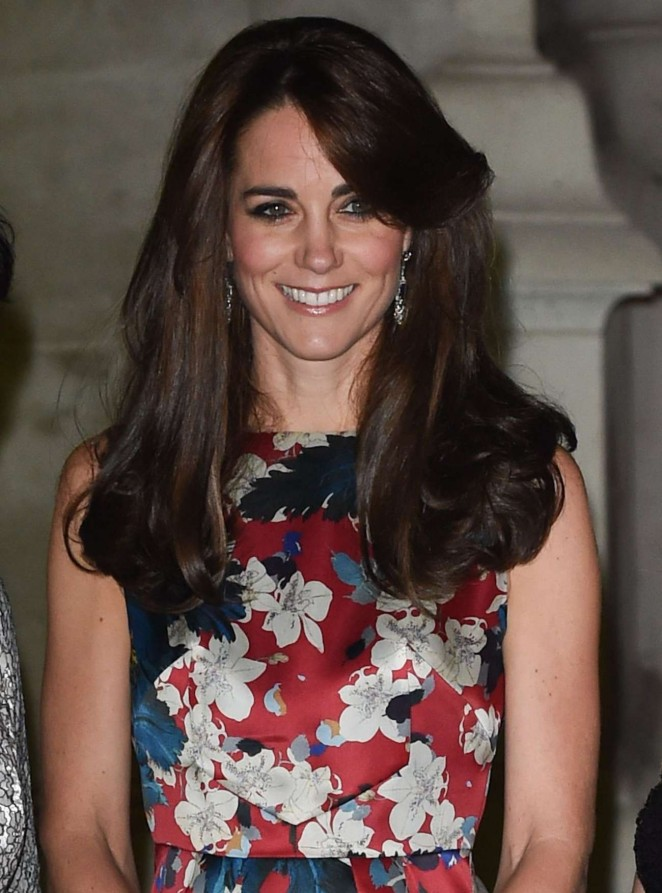 Kate Middleton smoulders in floral Erdem at the 100 Women in Hedge Funds Event