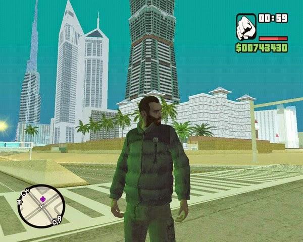 تحميل لعبة جاتا المدهش GTA elmodhesh برابط مباشر