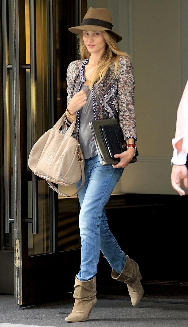 Dress Me Style Icon Rosie Huntington Whiteley