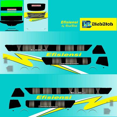 livery bussid bimasena efisiensi