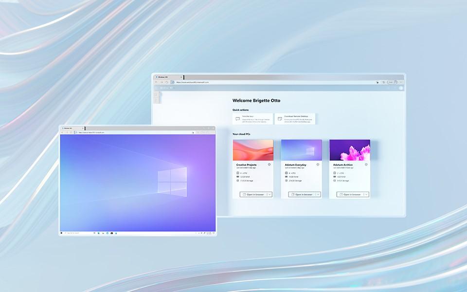Con Windows 365, hai un PC completo accessibile ovunque