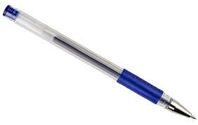 Ball point pen without a cap