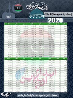 imsakiyah-ramadan-Libya-Time-1441-2020