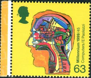 Computer in Human Head. Alan Turing