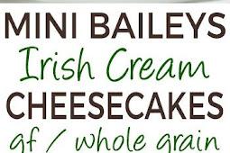 Mini Irish Cream Cheesecakes Recipe