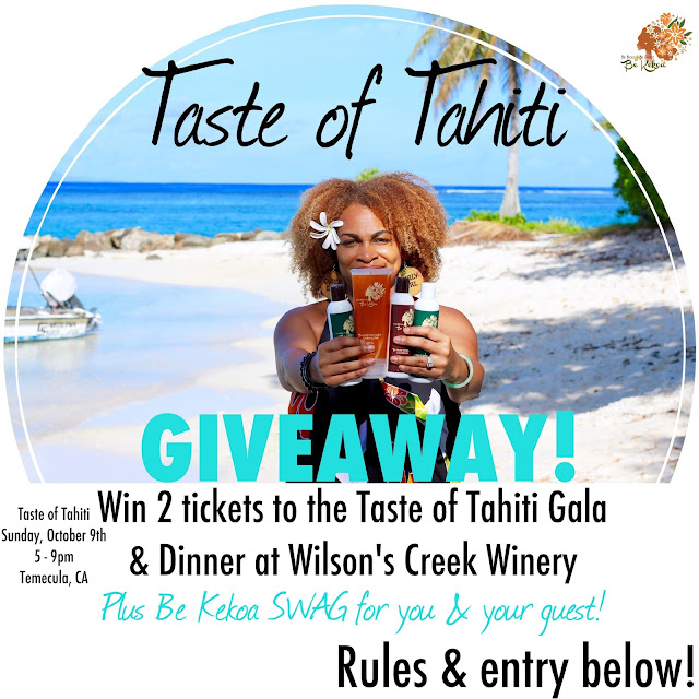 [GIVEAWAY INSIDE!] Get a Taste of Tahiti with Be Kekoa