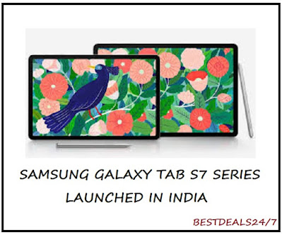 Samsung Galaxy Tab S7 Series Launched in India