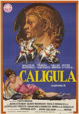 Kaligula 1979 caligula plakat erotyczny