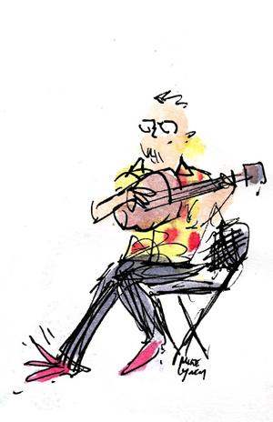 Sketchbook: Catskills Irish Arts Festival 2012