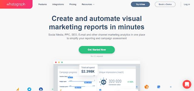 Digital Marketing Tools WhataGraph List