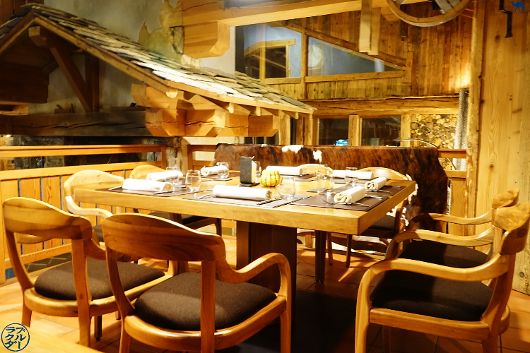 Le Chameau Bleu - Restaurant étoilé Val d'Isère Atelier d'Edmond