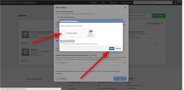 cara buat aplikasi di facebook developer sendiri