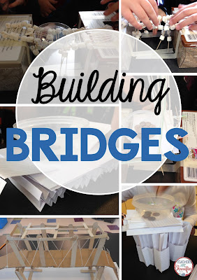 STEM Challenge: Building bridges! There are so many ways to do this. Here are three amazing challenges!