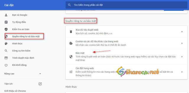 Quản lý chứng chỉ SLL trên Chrome