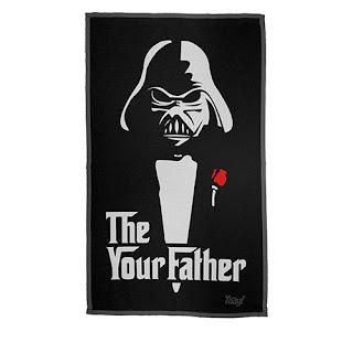 Pano de Prato Darth Vader Poderoso Chefão