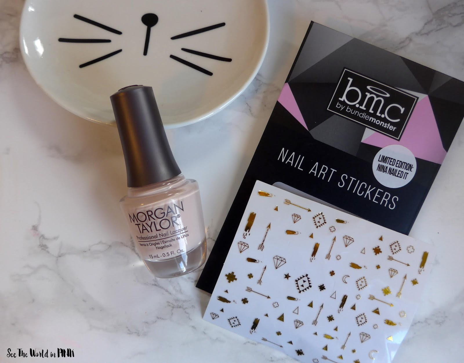 Manicure Monday - Simple Nude Nails