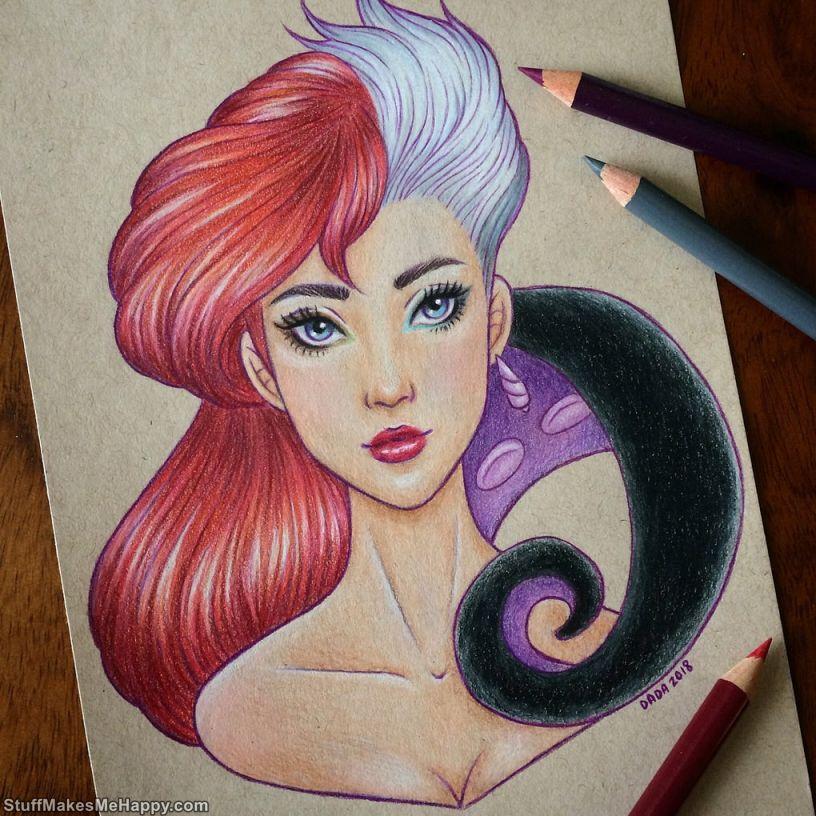 5. Ariel and Ursula