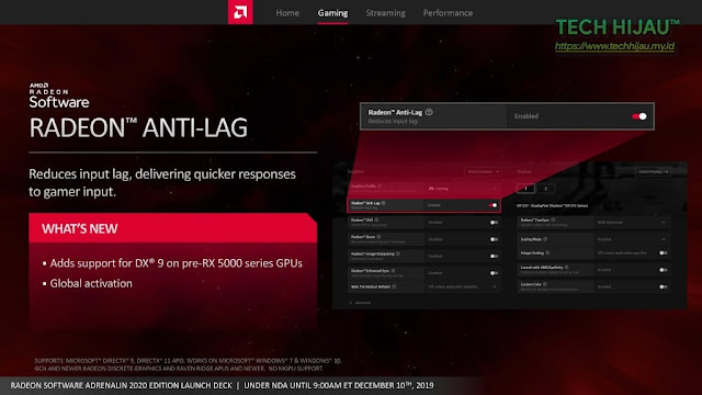 Tech Hijau™ — AMD Radeon Software Adrenalin 2020 Edition - Radeon™ Anti-lag