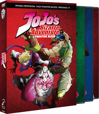 JOJO´S BIZARRE ADVENTURE TEMPORADA 1. PHANTOM BLOOD ep.1-9