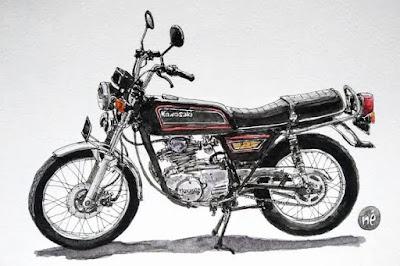 7 Motor Klasik Dibawah 10 Juta