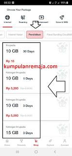 Cara Beli Paket Kouta Khusus Belajar Online di My Telkomsel