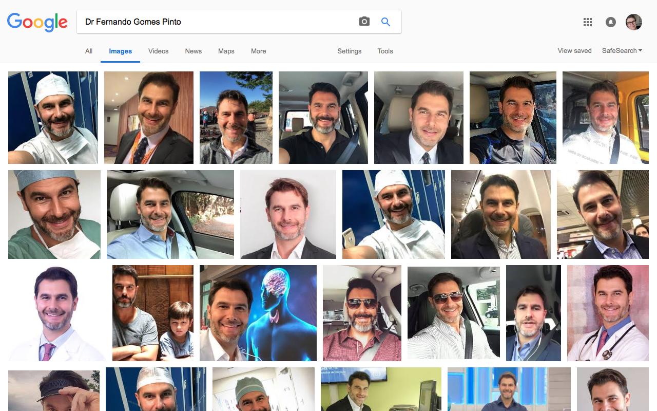InstaScams: Dr Fernando Gomes Pinto Fakers List