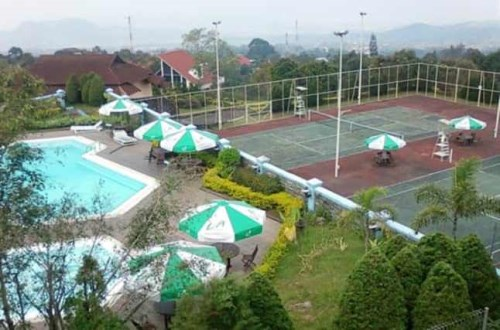 Hotel di daerah bandungan dekat umbul sidomukti