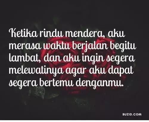 Rindu Quotes