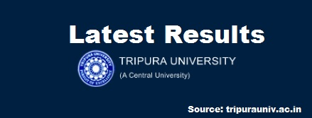 Tripura University B.Ed Exam Results 2020: Updated*
