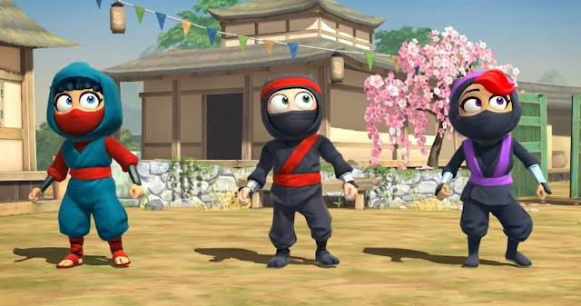 Clumsy Ninja v1.31.0 Mod Apk OBB Terbaru 2018 (Unlimited Coin/Gold)