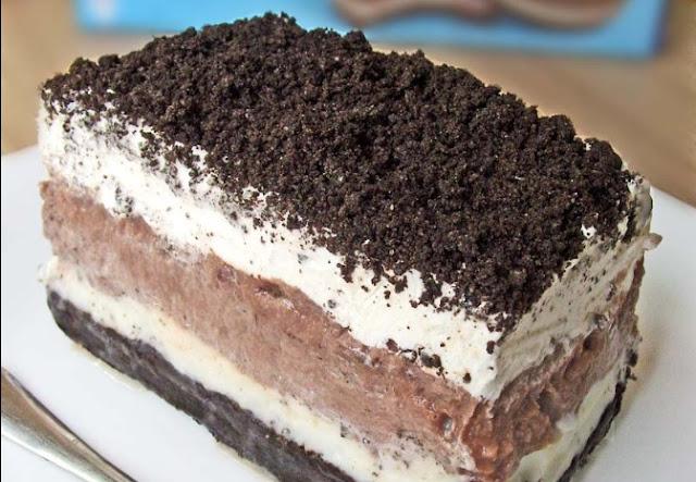 Oreo Pudding Cake #desserts #cake