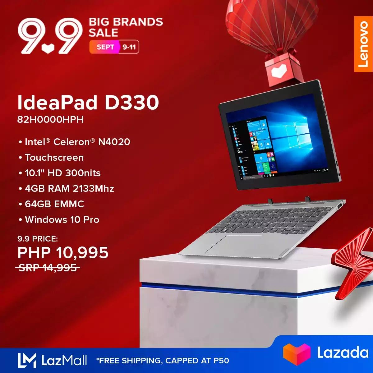IdeaPad D330 82H0000HPH