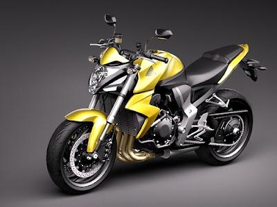 Paixão Por Moto: Nova Hornet CB 1000 R 2011