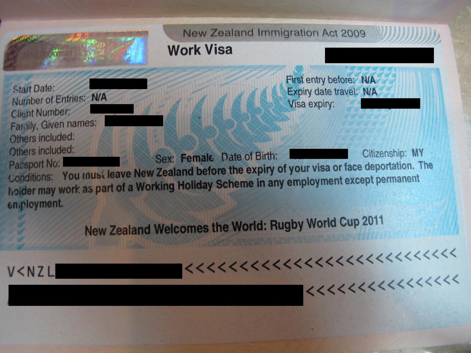 Image Result For Working Visa
