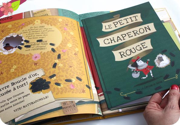 Glouton le croqueur de livres d'Emma Yarlett - éditions Gründ