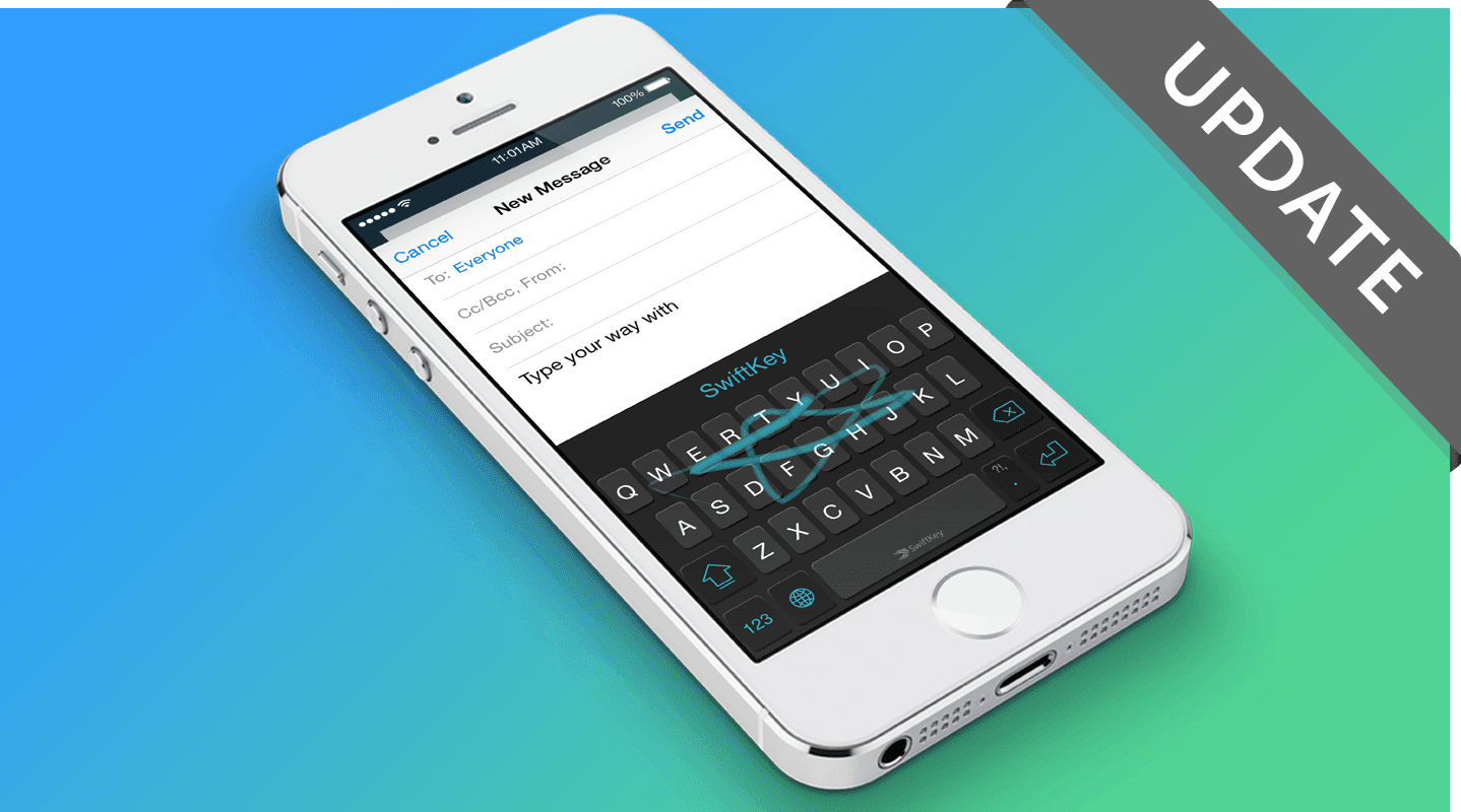 iphone keyboard app swiftkey keyboard app update for iphone and now live 11976