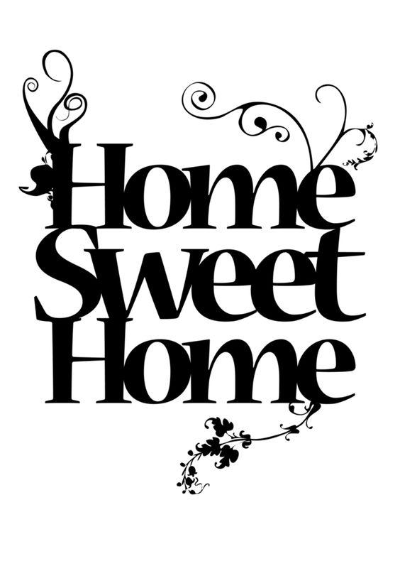 Decoupage Agnes76: Home sweet home... cz. 4 DRUKUJ transfery