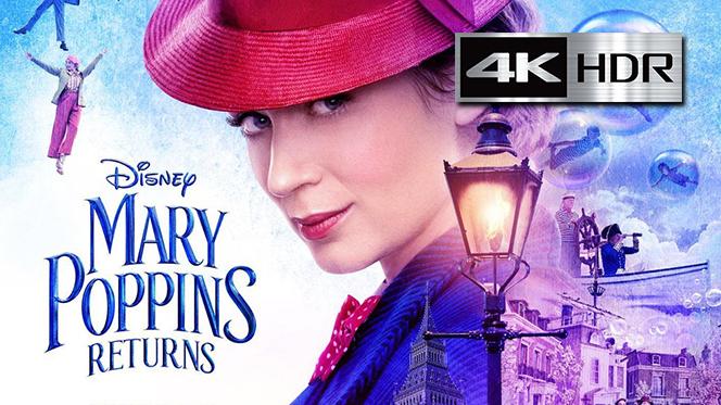 El Regreso de Mary Poppins (2018) 4K UHD [HDR] Latino-Ingles