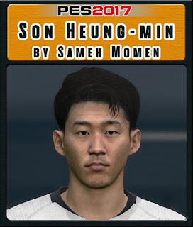 PES 2017 Faces Son Heung-Min by Sameh Momen