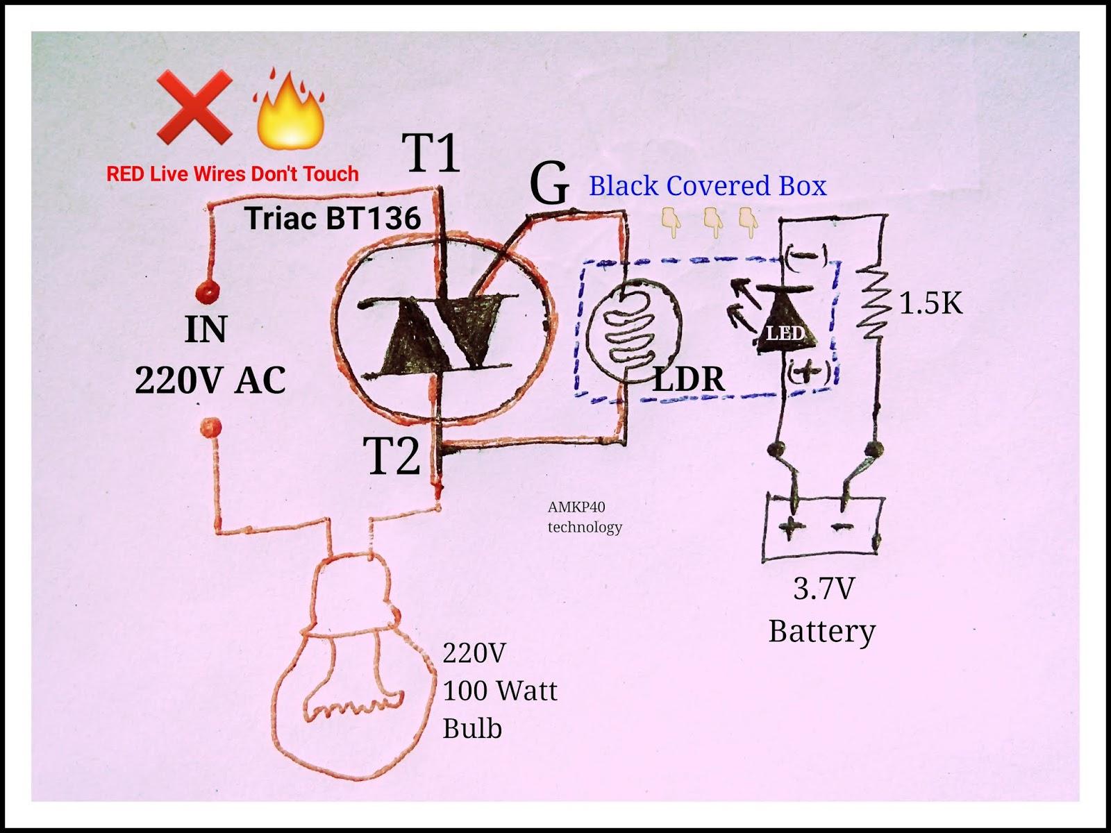 medium resolution of ac solid state relay circuit diagram