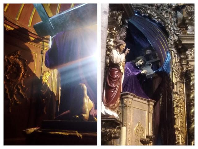 imagem do Senhor dos Passos na Igreja do Carmo no Porto