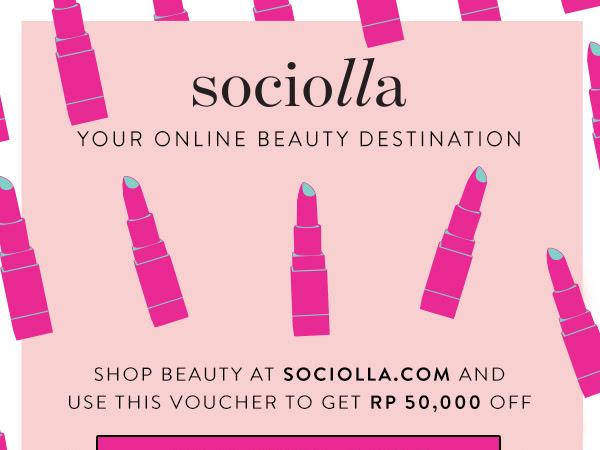 Get Discount at Sociolla.com
