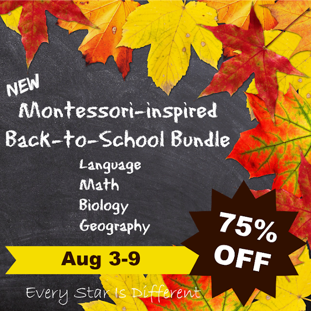 Montessori-inspired Back-to-School Bundle