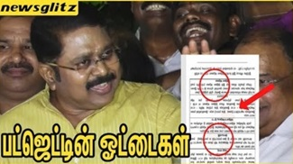 TTV Dinakaran Speech About Tamil Nadu budget 2018