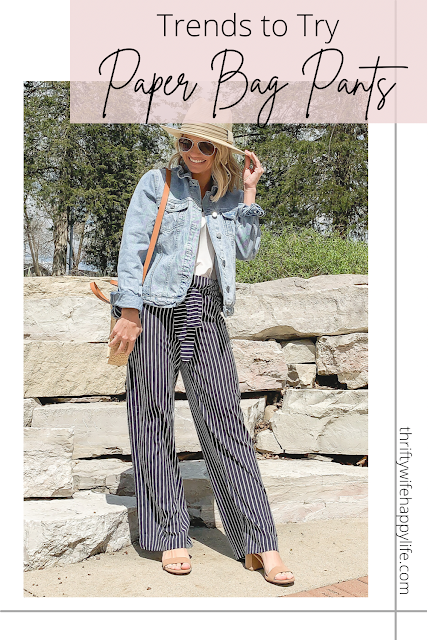 Trends to Try- Paper Bag Pants