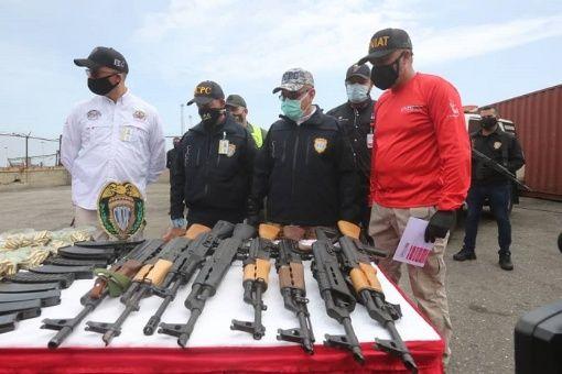 Incautan armamento con propósito desestabilizador en Venezuela