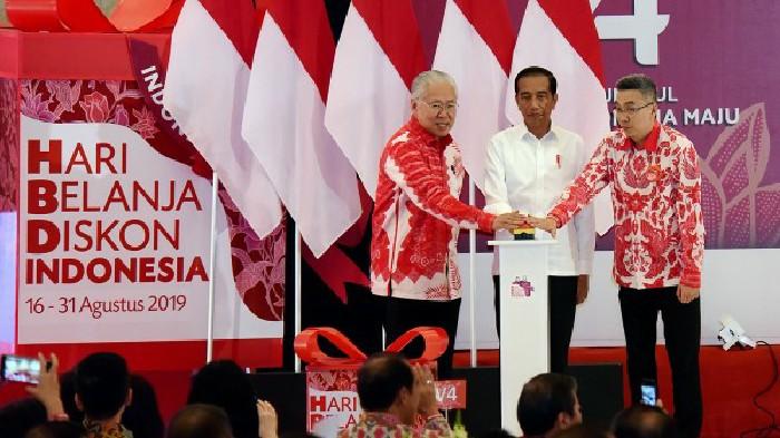 Presiden Jokowi Minta Pemilik Mal Beri Ruang Strategis 'Brand'Lokal