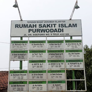 Jadwal Dokter RSI Purwodadi