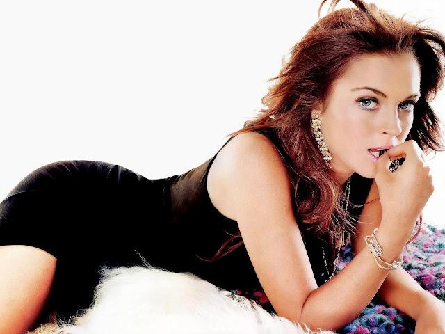 Hollywood Hot Beautiful Actress Lindsay Lohan